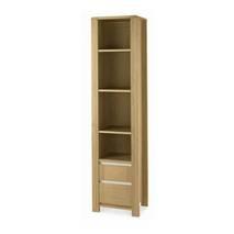 Tủ sách cao Casa nhỏ gỗ sồi