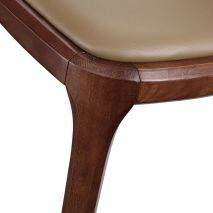 Ghế Grace gỗ cao su màu walnut