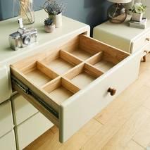 Tủ 6 ngăn kéo Rora - Ivory
