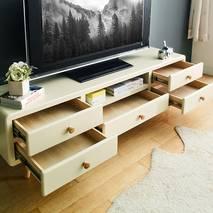 Tủ TV 5 ngăn kéo Rora - Ivory