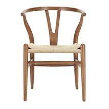 Ghế Wishbone mặt đan dây nhiều màu