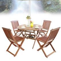 Bộ bàn Punai 4 ghế xếp Paradiso