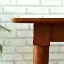 Bộ bàn ăn Cacao 6 ghế màu walnut