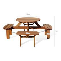 Bộ bàn tròn Banten 4 chỗ