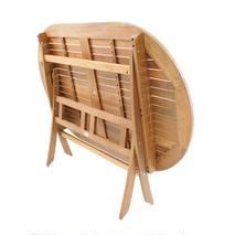 Bộ bàn oval Papua 6 ghế xếp Sumur