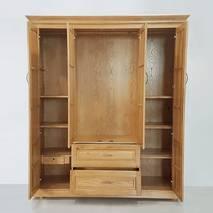 Tủ áo Pano 4 cánh gỗ sồi 1m8-2m