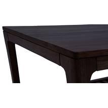 Bàn trà sofa Akita màu nâu gụ - cận cảnh