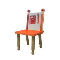 Ghế mầm non mẫu giáo bút chì màu cam