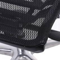 Ghế lưới văn phòng cao cấp Jupiter SB1000 Plus màu đen góc