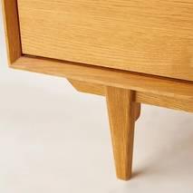 Tủ trữ đồ nhỏ Portobello phong cách Vintage gỗ tự nhiên