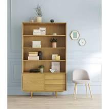 Tủ sách 4 tầng Portobello phong cách Vintage gỗ tự nhiên