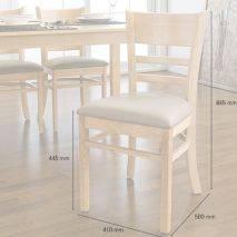Bộ bàn ăn ghế băng 4 chỗ Ulsan màu tự nhiên 10