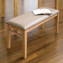 Bộ bàn ăn ghế băng 4 chỗ Ulsan màu tự nhiên 3
