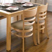 Bộ bàn ăn ghế băng 4 chỗ Ulsan màu tự nhiên 4
