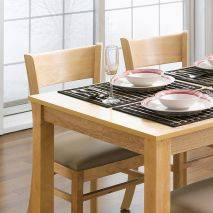 Bộ bàn ăn ghế băng 4 chỗ Ulsan màu tự nhiên 6