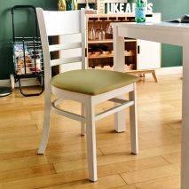 Bộ bàn ăn ghế băng 4 chỗ Ulsan màu trắng 8