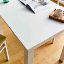 Bộ bàn ăn ghế băng 4 chỗ Ulsan màu trắng 9