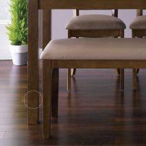 Bộ bàn ăn ghế băng 4 chỗ Ulsan màu antique 2