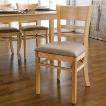 Bộ bàn ăn ghế băng 4 chỗ Ulsan màu tự nhiên 8