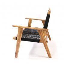 Bộ sofa đan dây Kingmens gỗ keo lau dầu 5