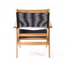 Bộ sofa đan dây Kingmens gỗ keo lau dầu 7