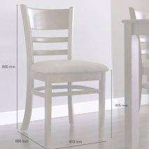 Bộ bàn ăn ghế băng 4 chỗ Ulsan màu antique 8
