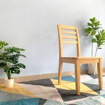 Ghế ăn Rec mặt gỗ phong cách Modern 5