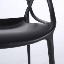 Ghế Master chân nhựa đúc màu xanh lá