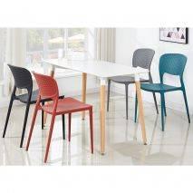 Bộ bàn ăn Veron 4 ghế Bryne màu ngẫu nhiên