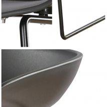 Ghế bar Ski lưng nhựa chân thép sơn tĩnh điện