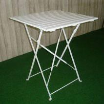 Bộ bàn café 4 ghế Shefield cao mặt vuông