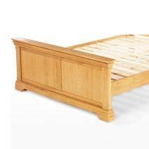 Giường Victoria gỗ sồi