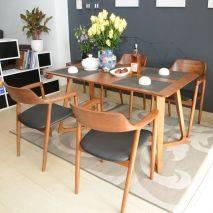 Bộ bàn ăn Scorden 4 ghế Praha