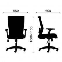 Ghế văn phòng IB1011 không gối