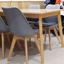 Bộ bàn ghế ăn 4 ghế Lily