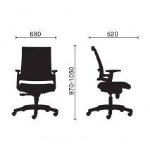 Ghế văn phòng IM1085
