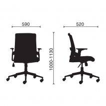 Ghế văn phòng IM1086