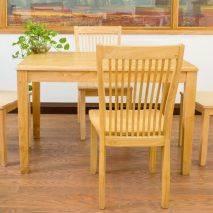 Bộ bàn ăn Lane 4 ghế Rowan