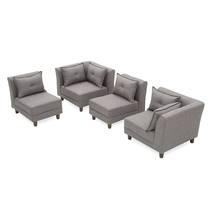 Sofa Mara Modular xam tach roi