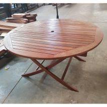 Bộ bàn xếp tròn Balai 1m4 8 ghế Paradiso