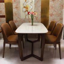 Bộ bàn ăn Concord 4 ghế Grace không tay