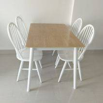 Bộ bàn ăn 4 ghế Windsor