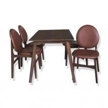 Bộ bàn ăn 4-6-8 ghế Selene