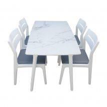 Bộ bàn ăn 4-6-8 ghế Vega