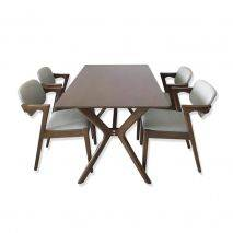 Bộ bàn ăn Mondrian 4-6-8 ghế Kai