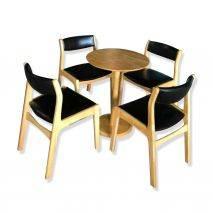 Bộ bàn tròn Como 2-4 ghế Kai