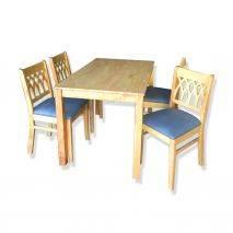 Bộ bàn ăn 4-6-8 ghế Erech