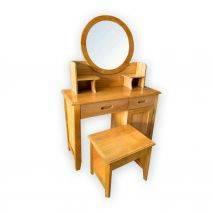 Bộ bàn trang điểm Hera gỗ sồi