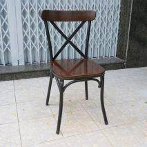 Ghế Bistro mặt gỗ