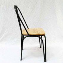 Bộ bàn Vanda 2 ghế Marcello mặt gỗ